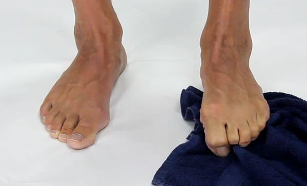 تقویت عضله درونی پا برای درمان مورتون نروما