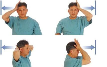 تمرینات مقاومتی برای آرتروز در گردن