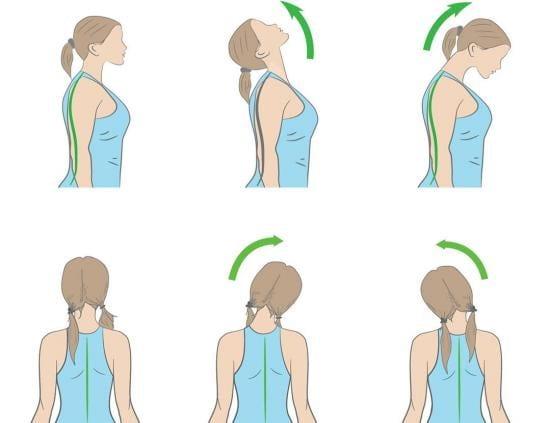 تمرینات کششی آرتروز گردن