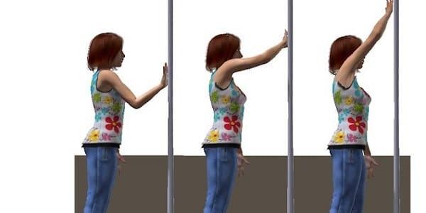 تمرین بالا بردن بازوها مناسب برای شانه درد
