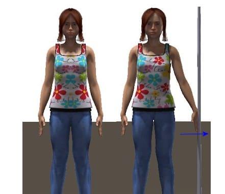 دور کردن بازو از بدن و کشش ایزومتریک مناسب برای شانه درد