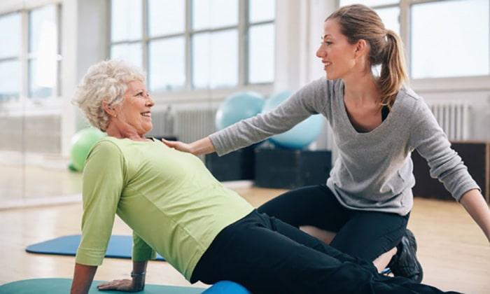 فیزیوتراپی درمانی برای شکستگی فشاری مهرههای صدری